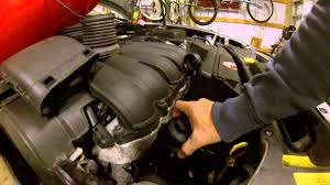 2006 volvo s40 oil change youtube