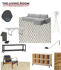pairing a neutral rug with moody walls the sweet beast