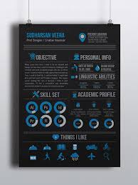 Graphical Resume 10 Cool Resumes Made By Professional Graphic Designers Learn It