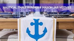 Nautical Table Decoration Ideas How To Create Nautical Table Decor Video Hgtv