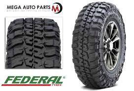 Federal Couragia Mt Tread Life 1 X Federal Couragia M T 33x12 50r15 108q 6ply Mt Off Road All