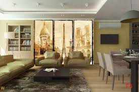 Paris Wall Murals Mural Retro Photo Collage From Paris