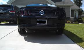 Blacked Out 2014 Mustang Blacked Out Mustang Pics Parking Lights Tint The Mustang