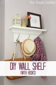 How To Make Wall Shelves How To Make A Wall Shelf With Hooks Shelves Bedrooms And Kitchens