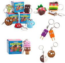 ketchup keychain yummy dessert keychain blind box item from kidrobot new