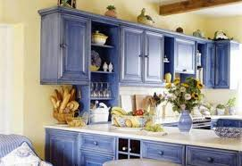 country kitchen painting ideas blue painted kitchen ideas photogiraffe me