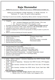 effective resume templates simply mechanical engineering fresher resume format free