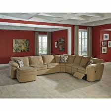 Sleeper Sectional With Chaise Design By Ashley Coats Dune 5 Piece Reclining Sleeper Sectional