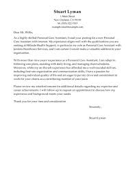direct care counselor cover letter