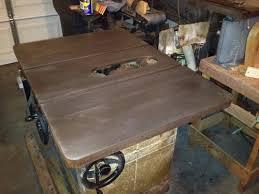 restoration powermatic 66 table saw woodworking talk