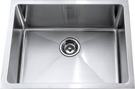 Chic Single Basin Stainless Steel Sink White Single Basin Kitchen - White undermount kitchen sinks single bowl