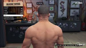 tattoo franklin gta v grand theft auto 5 on gta cz