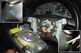 bmw e36 3 series steering wheel removal and replacement 1992