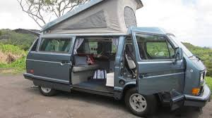 volkswagen van hippie for sale rent a camper van in hawaii