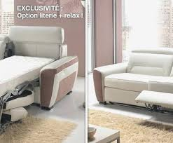 canapé relaxima relaxima canape convertible kendo 2 extenso fm4industry org