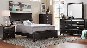 espresso queen bedroom set queen sleigh bed set property belcourt black 5 pc bedroom sets in