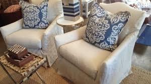 slipcovered chair impressive geneva linen slipcovered chair mecox gardens within slip