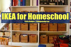 the massive list of homeschool room organization hacks free