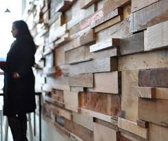 wood pieces for walls random wood pieces wall treatment i the look timber