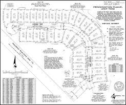 Plat Maps Subdivision Plat Map