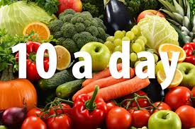 trying to eat 10 a day of fruit and veg here are 8 tips to help
