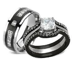 black stainless steel wedding rings black stainless steel wedding rings wedding corners