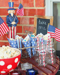 Memorial Day Decor Celebrate Summer Patriotic Popcorn And Decor Simply Domestic
