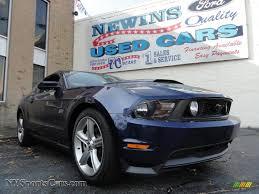 2010 Mustang Black 2010 Ford Mustang Gt Premium Coupe In Kona Blue Metallic 177328