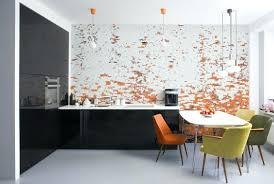 modern kitchen wallpaper ideas modern kitchen wallpaper inspiring wall murals for ideas awesome