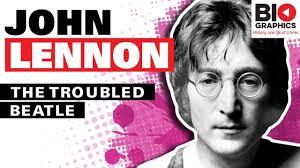 biography of john lennon in the beatles the troubled beatle john lennon biography youtube