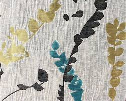Gray And Yellow Curtains Custom Curtains In Greige With Black Teal Yellow Green