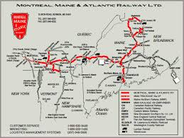 Chicago Trains Map by Oil Electric Central Maine U0026 Quebec Plans To Resume Unit Oil Trains