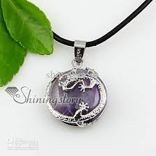 green stone necklace pendant images Wholesale round dragon gem stone jewelry semi precious stone jpg