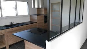 cuisine gris et noir impressionnant cuisine bois et noir collection et cuisine bois et