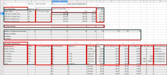 How To Complete A Spreadsheet Ch 013 Creating A Pricing Calculator Pricing Engine