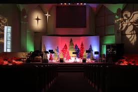 Church Lighting Design Ideas Church Stage Decorating Ideas Advent 2010 The Enchanted Forest