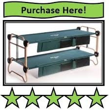 Bunk Bed Cots Best Portable Bunk Beds For Cing Amazing Outdoor Adventures