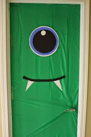 Halloween Decorating Doors Ideas Best 25 Monster Door Ideas On Pinterest Monster Door Decoration