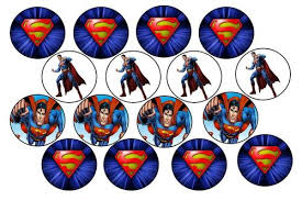 superman cake toppers cake decorating superman edible picture cupcake toppers was