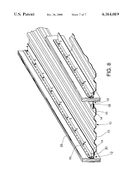 Southeastern Underdeck Systems by Patent Us6164019 Dry Deck Rain Trays Google Patents