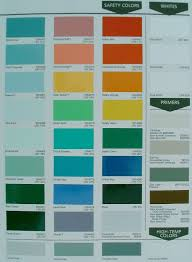 color chart selections first class coatings inc