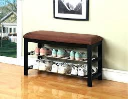 trendy coat rack bench with storage u2013 portraitsofamachine info