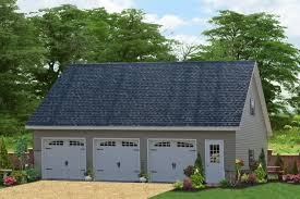 cottage garage plans a three car garage with a full second floor buy a three car