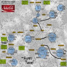 Chernobyl Fallout Map by A Useful Metro Map Texture Replacement At Fallout3 Nexus Mods