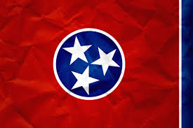 Flag With Red Circle Flag Of Tennessee With Paper Texture Download It For Free