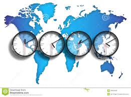 European Time Zone Map by World Map Time Zones Royalty Free Stock Photos Image 28904658