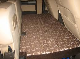 Ford F350 Truck Seat Covers - dog bed for the rear seat fold out platform diesel forum