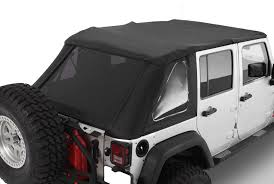 jeep wrangler unlimited softtop 2007 2016 jeep wrangler unlimited frameless bowless top kit