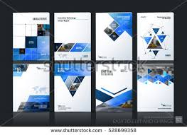 technical brochure template brochure template layout cover design annual stock vector