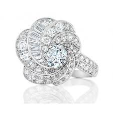 jewellery ring necklace images Aria high jewellery white gold diamond ring de beers jpg